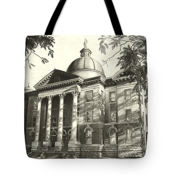 Hays County Courthouse Tote Bag