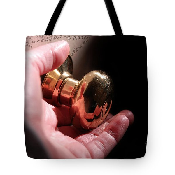 Tote Bag featuring the digital art Healing Begins by Margie Chapman