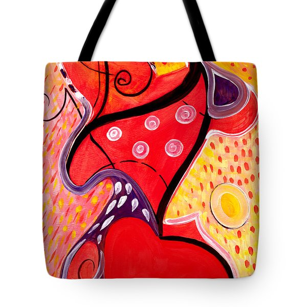 Heart And Soul Tote Bag by Stephen Lucas