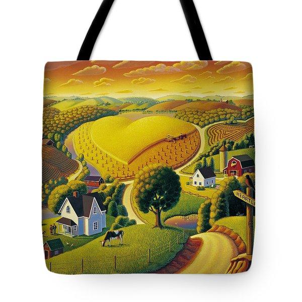 Heartland  Tote Bag
