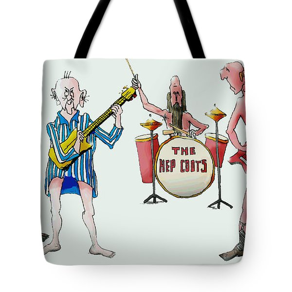 Sixties And Seventies Musicians Tote Bag