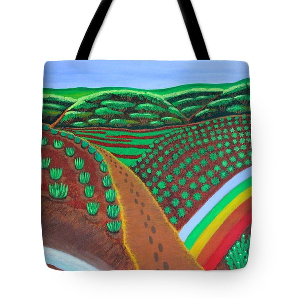 Hidden Forest Tote Bag by Lorna Maza