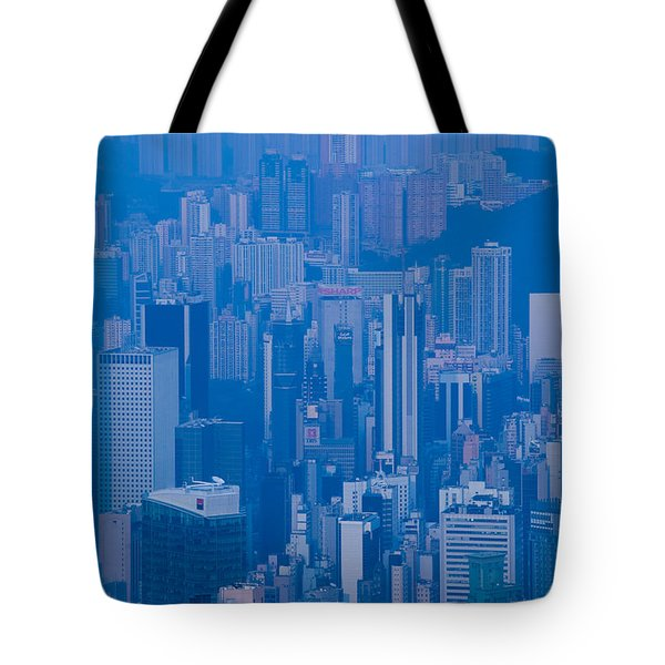 High Angle View Of Buildings Tote Bag by Panoramic Images
