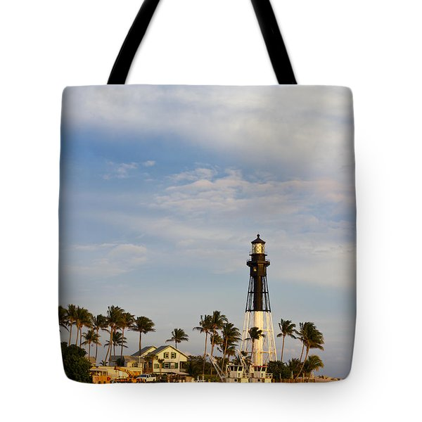 Hillsboro Inlet Lighthouse Tote Bag