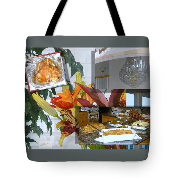 Holiday Collage Tote Bag