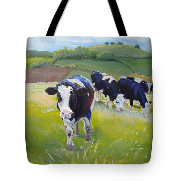 Holstein Friesian Cows Tote Bag