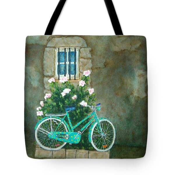Home For Lunch In Rome Tote Bag by Pamela Allegretto