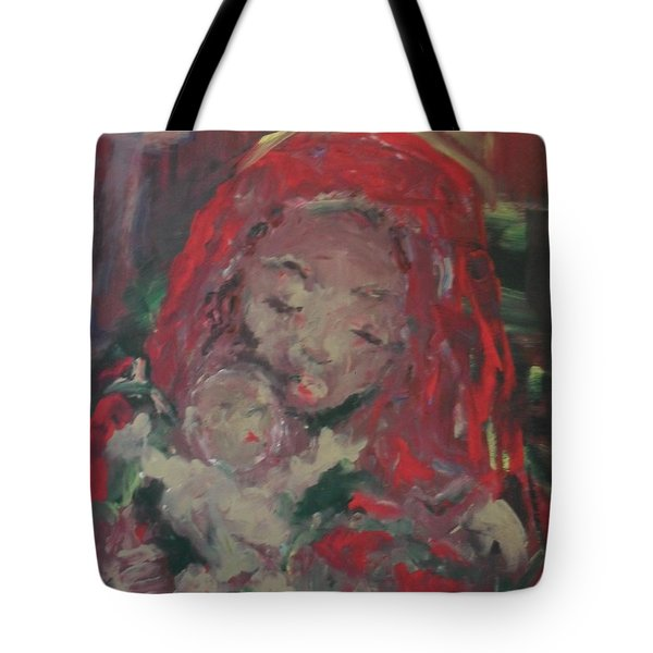 Tote Bag featuring the painting Hope  by Laurie Lundquist