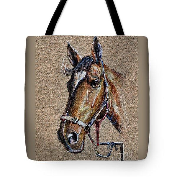 Horse Face - Drawing  Tote Bag