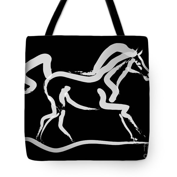 Horse-runner Tote Bag