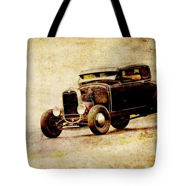 Hot Rod Ford Tote Bag