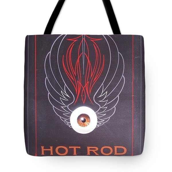 Hot Rod Garage Tote Bag