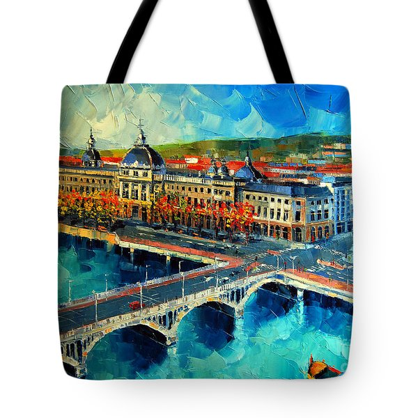 Hotel Dieu De Lyon Tote Bag
