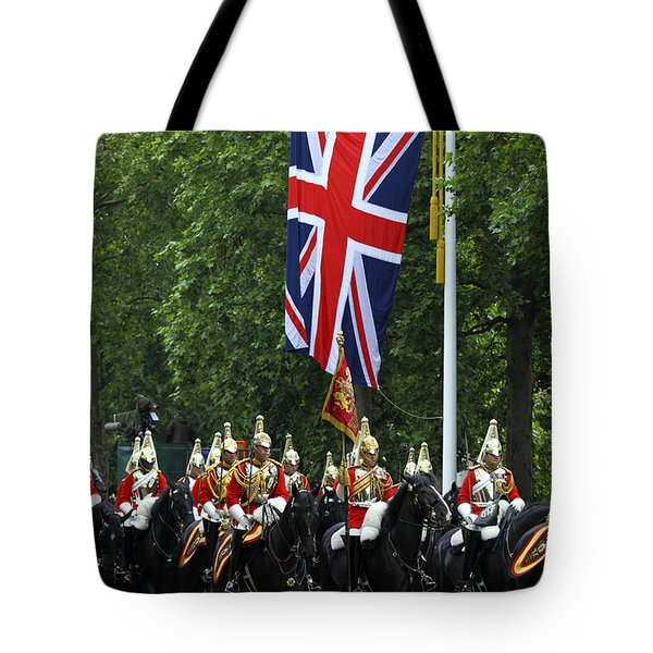 Household Cavalry Life Guards Tote Bag