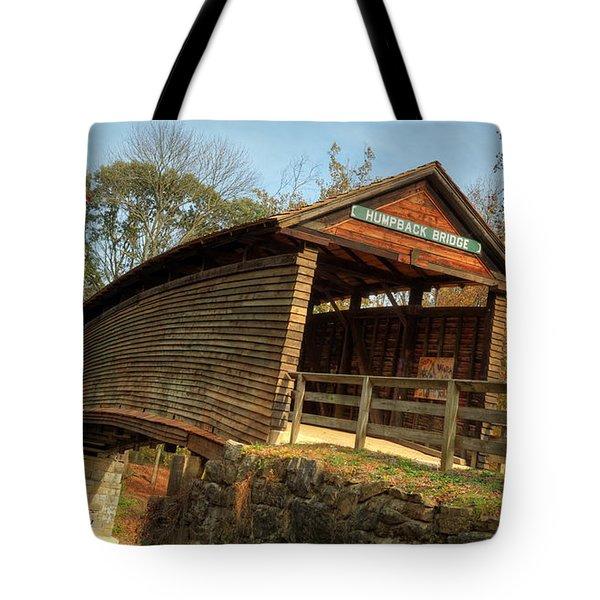 Humpback Covered Bridge Tote Bag