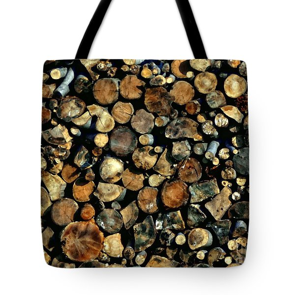 Hunkering Down Tote Bag by Andrea Kollo
