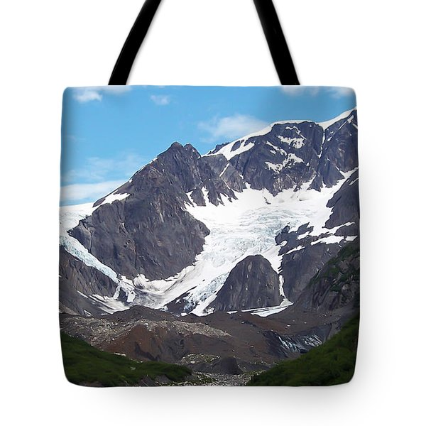 Ice And Snow Tote Bag by Aimee L Maher Photography and Art Visit ALMGallerydotcom