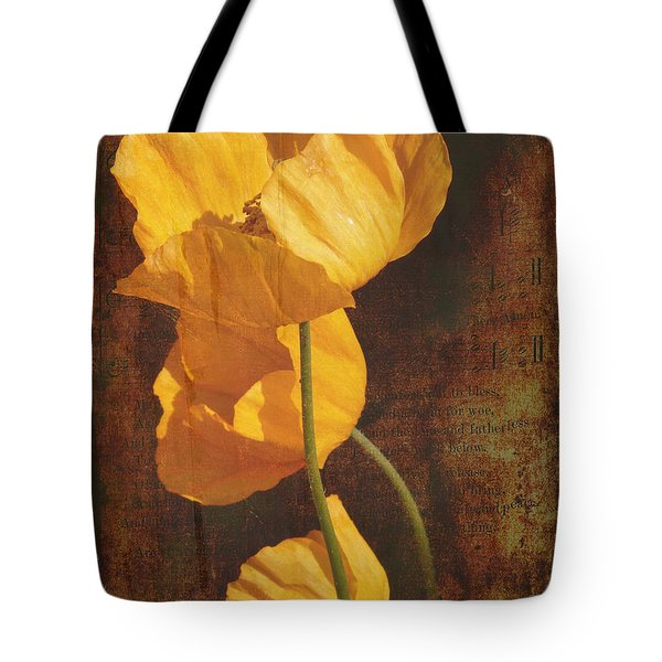 Icelandic Poppy Tote Bag