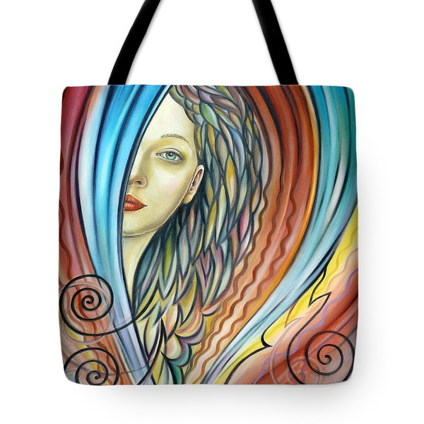 Illusive Water Nymph 240908 Tote Bag by Selena Boron