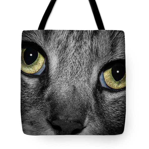 In A Cats Eye Tote Bag