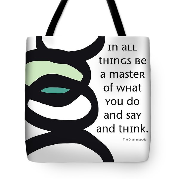 In All Things Tote Bag by Linda Woods