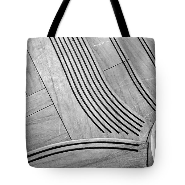 Intersection Of Lines And Curves Tote Bag