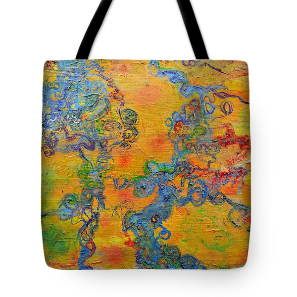 Ion Channel Tote Bag