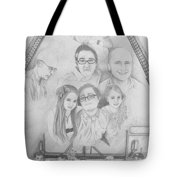 Iron Will Tote Bag by Justin Moore