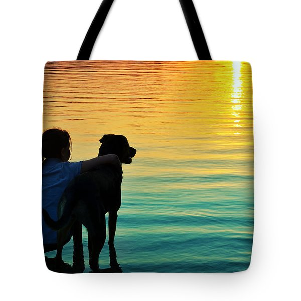 Island Tote Bag by Laura Fasulo