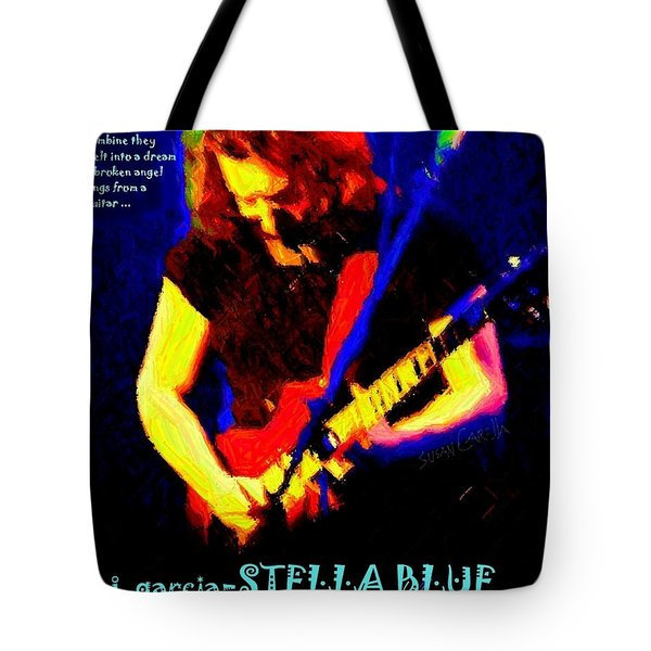 Tote Bag featuring the photograph Dust Off Those Rusty Strings by Susan Carella