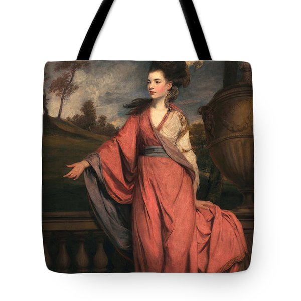 Jane Fleming, Later Countess Tote Bag by Sir Joshua Reynolds