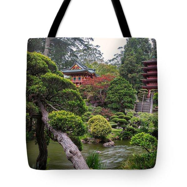 Japanese Tea Garden - Golden Gate Park Tote Bag