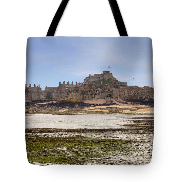 Jersey - Elizabeth Castle Tote Bag by Joana Kruse