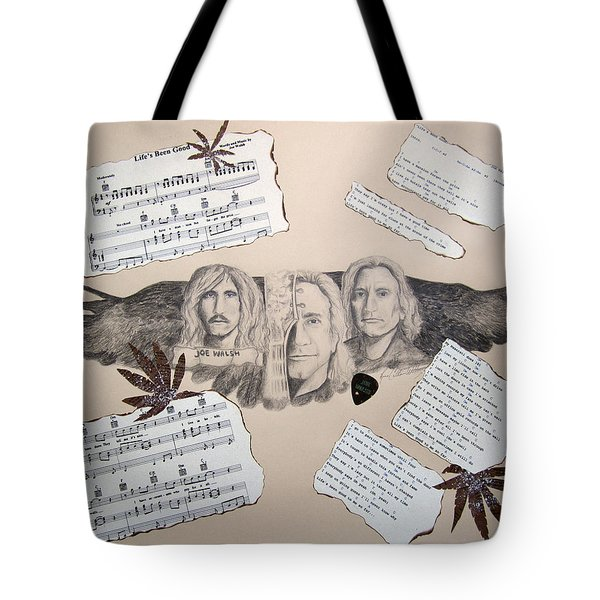 Joe Walsh Good Life Tote Bag by Renee Catherine Wittmann