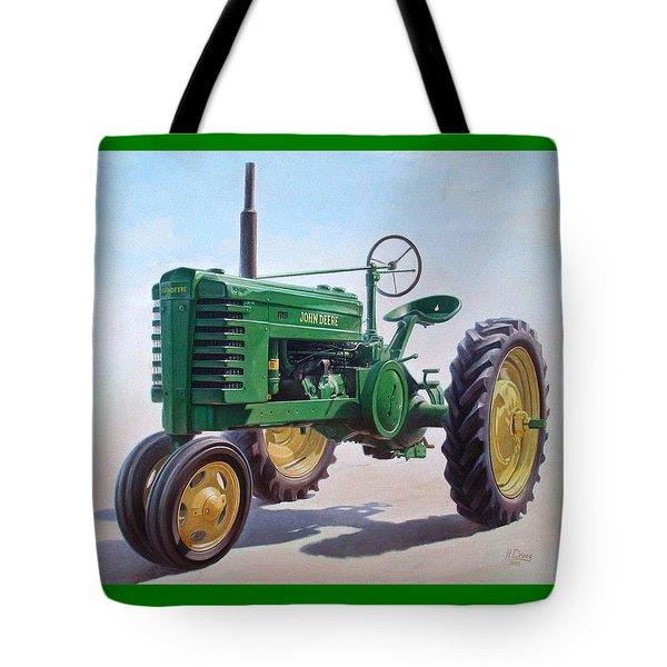 John Deere Tractor Tote Bag by Hans Droog