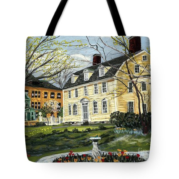 John Paul Jones House Tote Bag