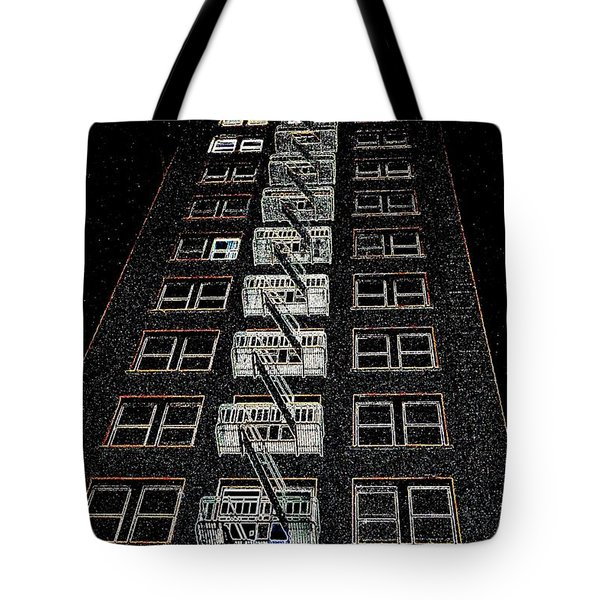 Journey Tote Bag by Nick David