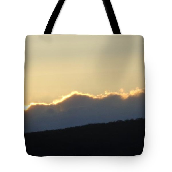 2 - June Sunset 2 Tote Bag by Christina Verdgeline