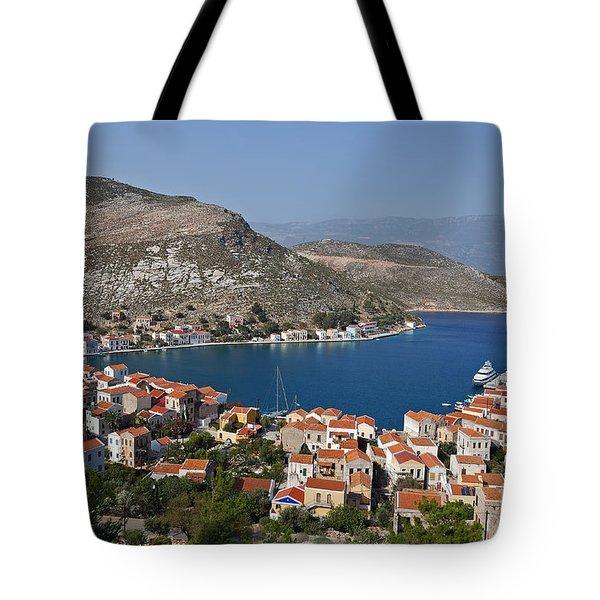 Kastelorizo Island Tote Bag