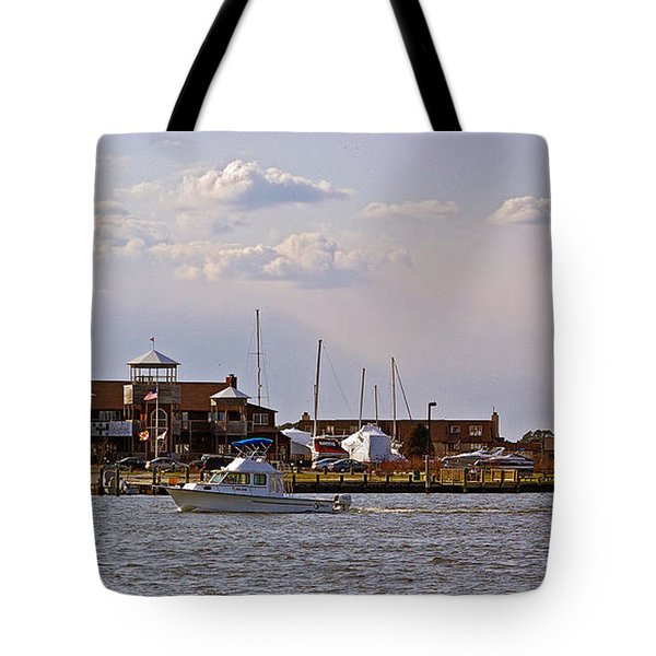 Kent Island Tote Bag by Brian Wallace