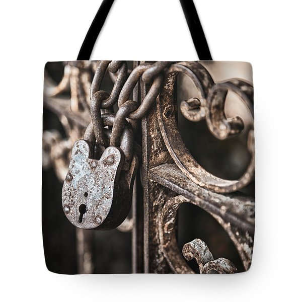 Keyless Tote Bag by Caitlyn  Grasso