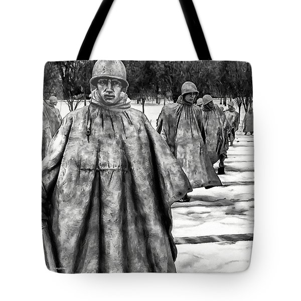 Korean War Memorial Washington Dc Tote Bag