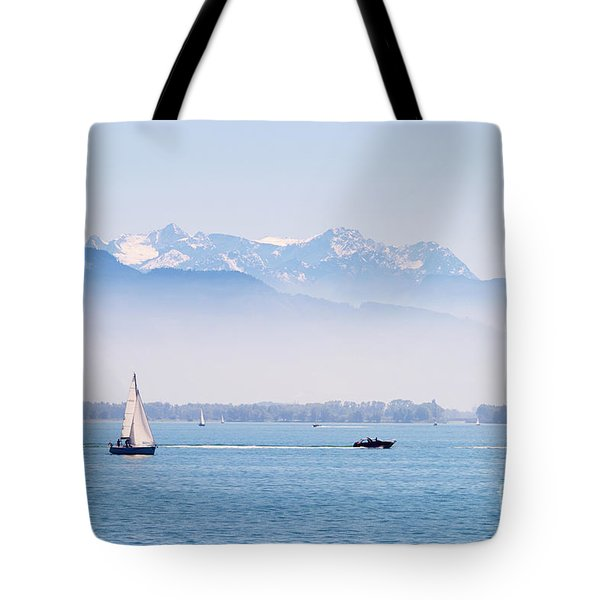 Lake Of Constance Tote Bag