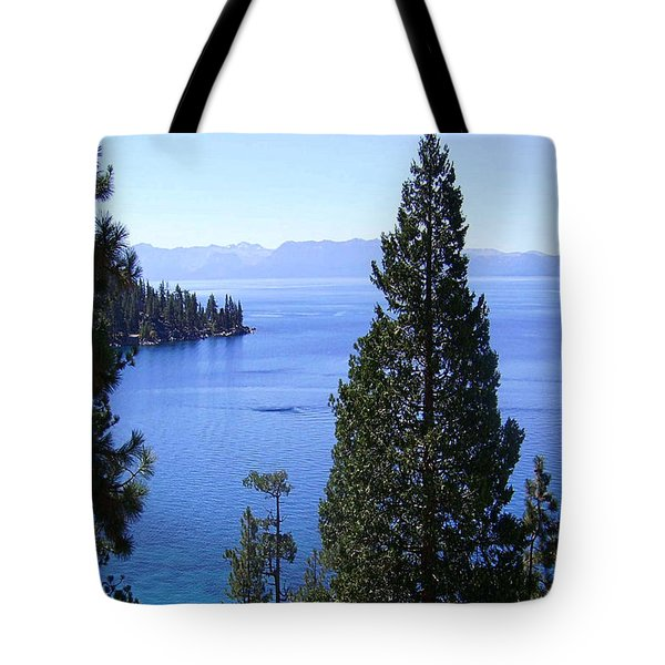 Lake Tahoe 4 Tote Bag by J D Owen