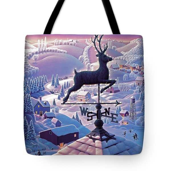 Lands End Weathervane Tote Bag