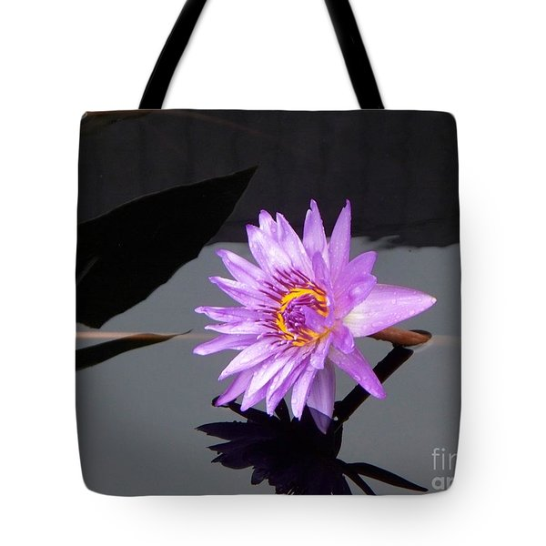 Lavender Lily Tote Bag by Eric  Schiabor