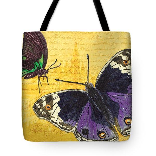 Le Papillon 4 Tote Bag