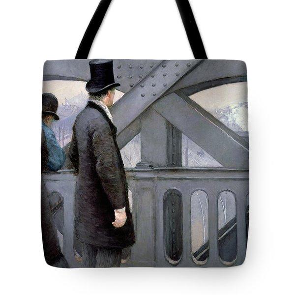 Le Pont De L'europe Tote Bag