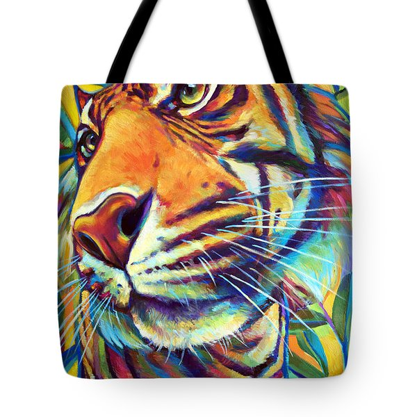 Le Tigre Tote Bag by Robert Phelps