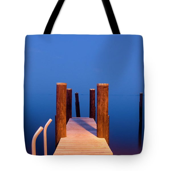 Leading Into The Big Blue Tote Bag